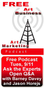 Free art marketing podcast