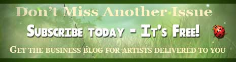 Get the art business blog delivered to you